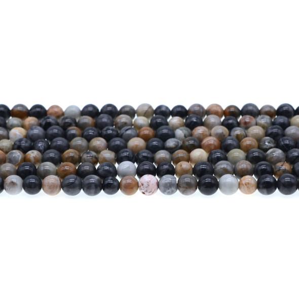 Picasso Jasper Round 6mm - Loose Beads