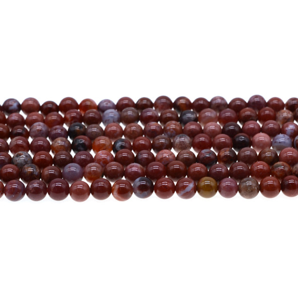 Portuguese Agate Round 6mm - Loose Beads