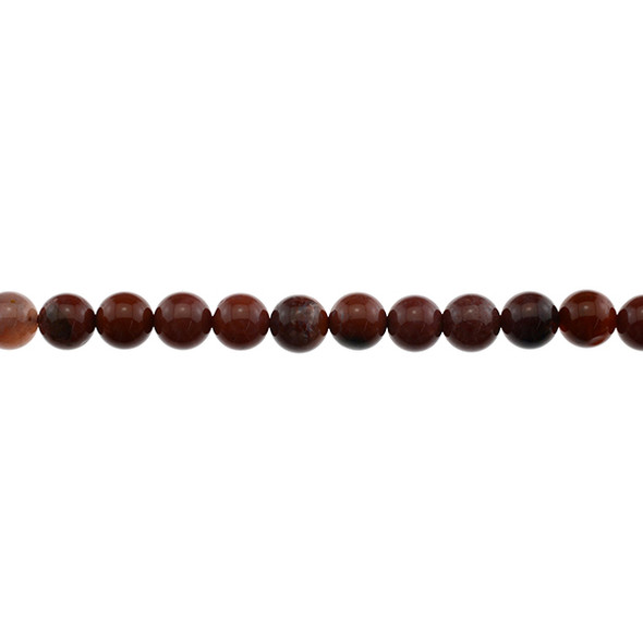 Portuguese Agate Round 8mm - Loose Beads