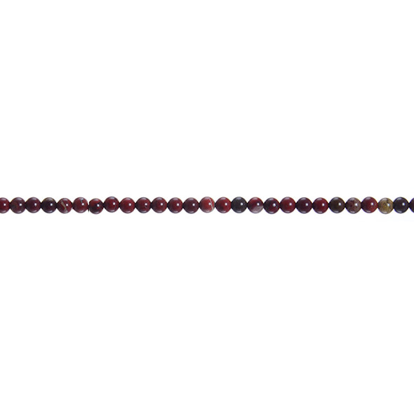 Poppy Jasper Round 3mm - Loose Beads