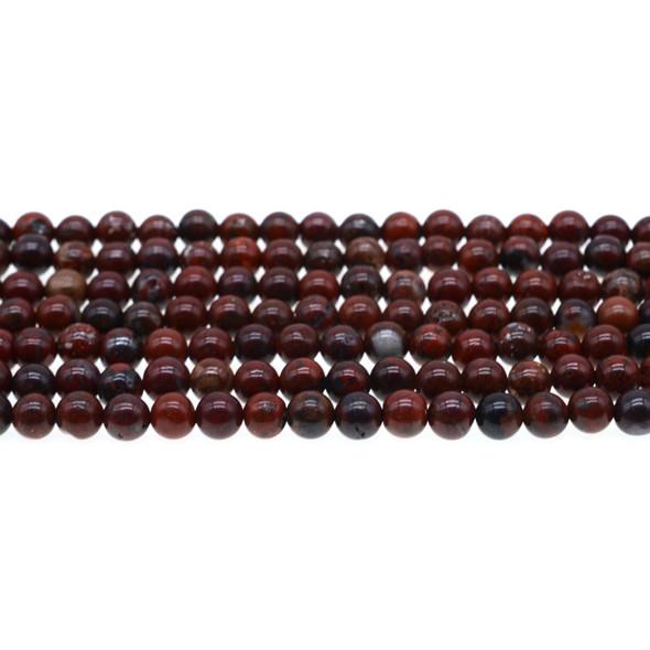 Poppy Jasper Round 6mm - Loose Beads