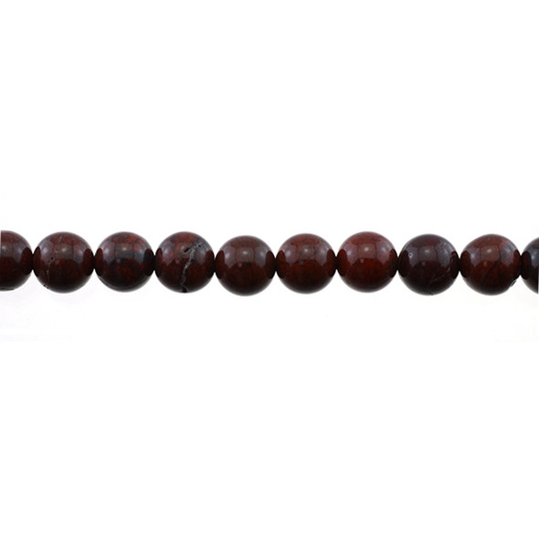 Poppy Jasper Round 10mm - Loose Beads