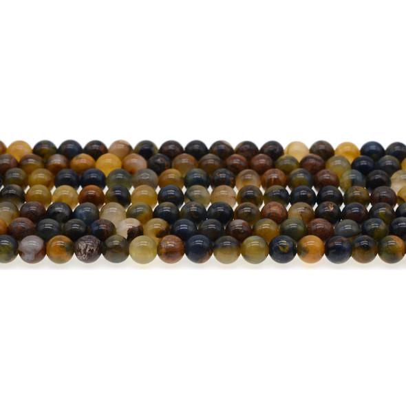 Pietersite Round 6mm - Loose Beads