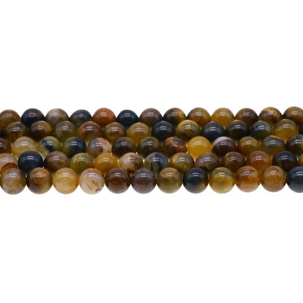 Pietersite Round 8mm - Loose Beads