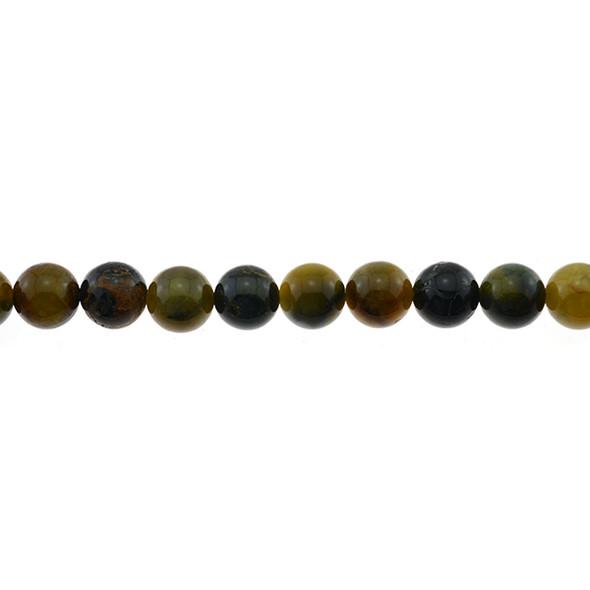 Pietersite Round 10mm - Loose Beads