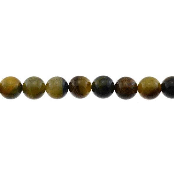 Pietersite Round 12mm - Loose Beads