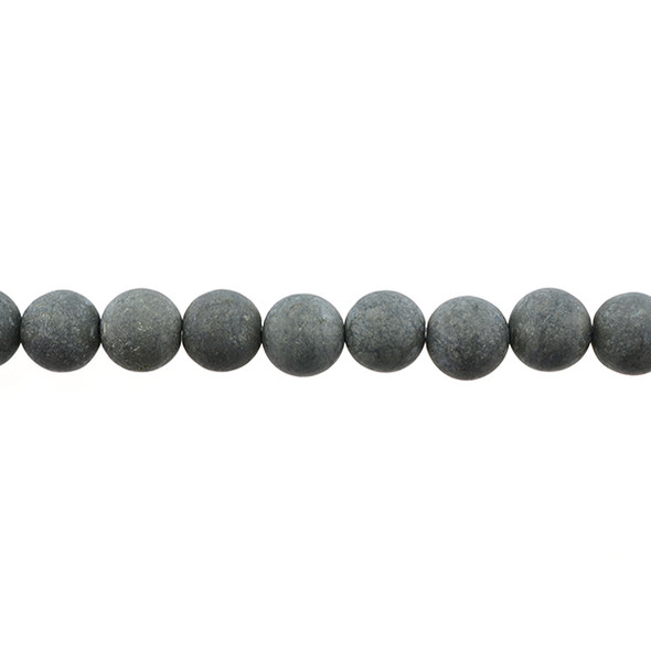 Pyrite Round Frosted 10mm -Loose Beads