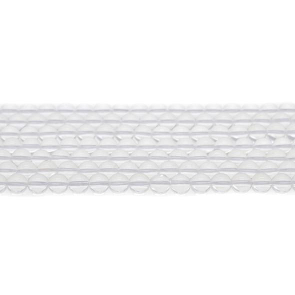 Natural Quartz Round 6mm - Loose Beads