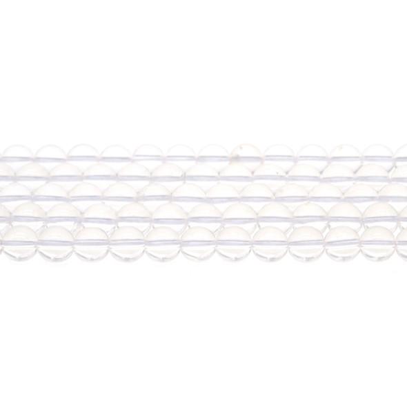 Natural Quartz Round 8mm - Loose Beads