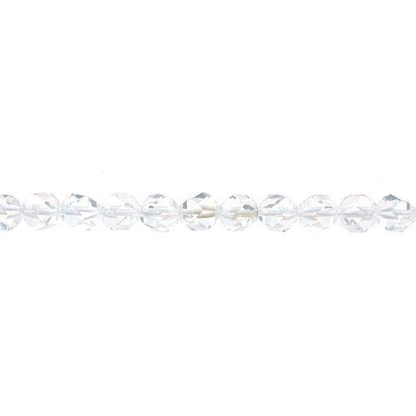 Natural Quartz Round Large Cut 8mm - Loose Beads