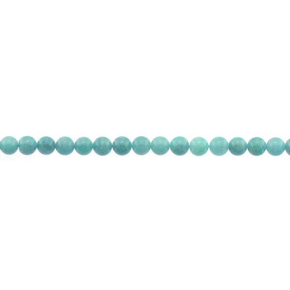 Russian Amazonite Round 6mm - Loose Beads