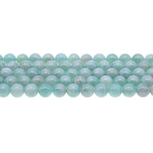 Russian Amazonite Round 8mm - Loose Beads
