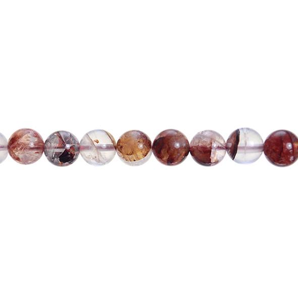 Red Quartz Round 10mm - Loose Beads