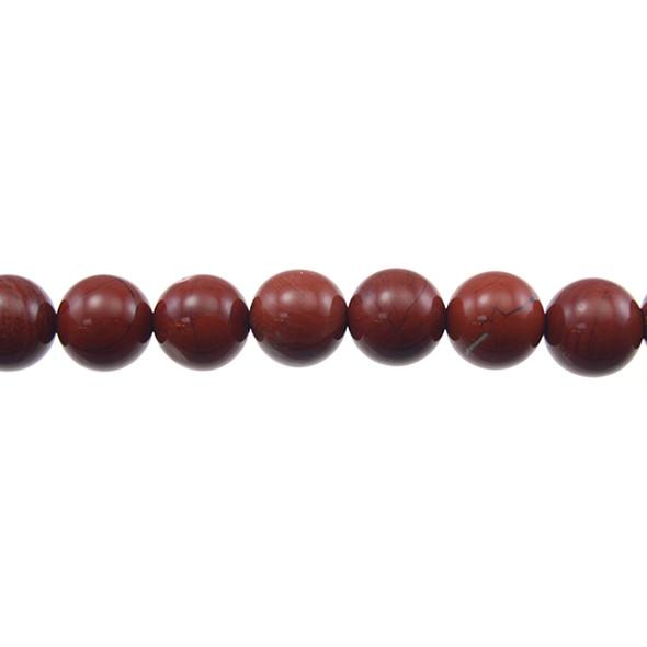 Red Jasper Round 10mm - Loose Beads