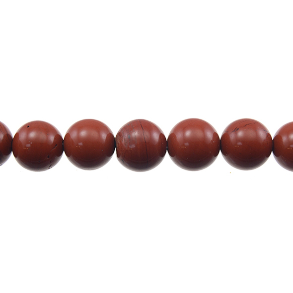 Red Jasper Round 12mm - Loose Beads