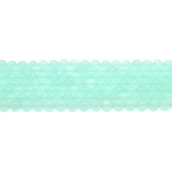 Turquoise Rainbow Jade Round 6mm - Loose Beads