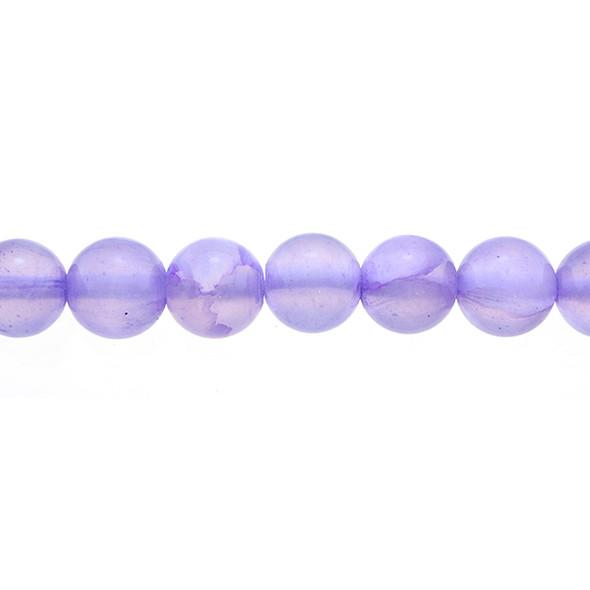 Purple Rainbow Jade Round 10mm - Loose Beads