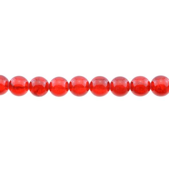 Red Rainbow Jade Round 10mm - Loose Beads