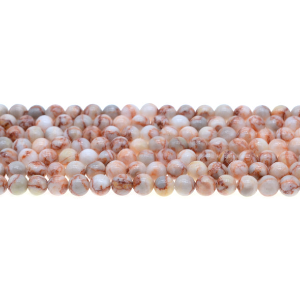 Red Line Jasper Round 6mm - Loose Beads