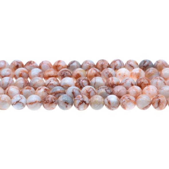 Red Line Jasper Round 8mm - Loose Beads