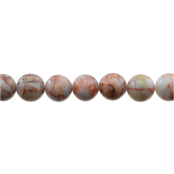 Red Line Jasper Round 12mm - Loose Beads