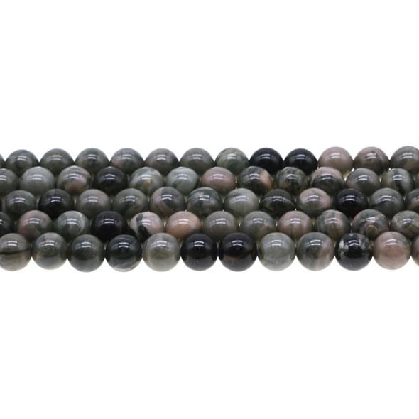 Rainbow Mud Jasper Round 8mm - Loose Beads