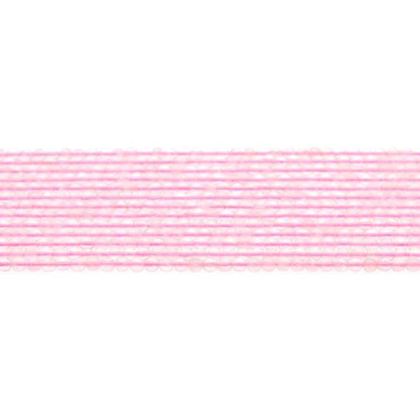 Rose Quartz Round 3mm - Loose Beads