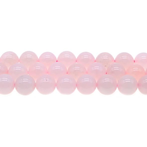 Rose Quartz Round 12mm - Loose Beads