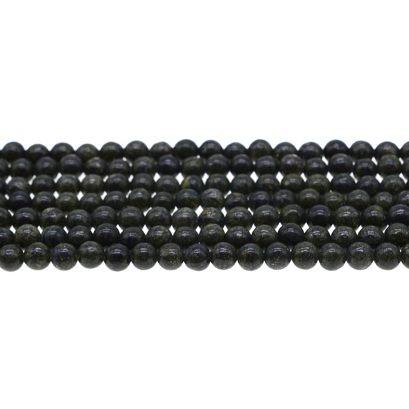 Russian Serpentine Round 6mm - Loose Beads