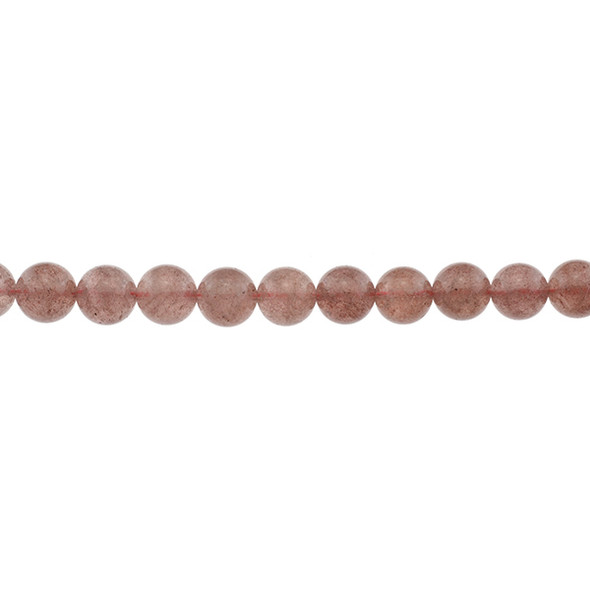 Natural Strawberry Quartz AA 10mm - Loose Beads