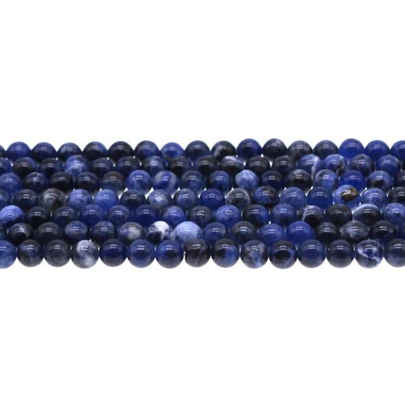 Sodalite Round 6mm - Loose Beads
