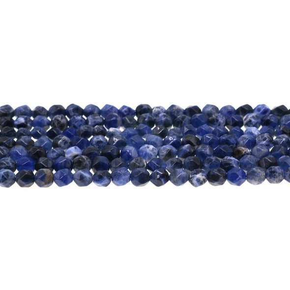 Sodalite Round Large Cut 6mm - Loose Beads
