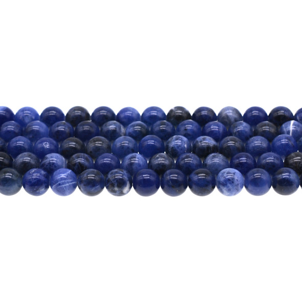 Sodalite Round 8mm - Loose Beads