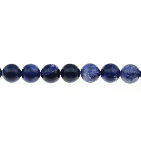 Sodalite Round 10mm - Loose Beads