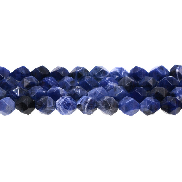 Sodalite Round Large Cut 10mm - Loose Beads