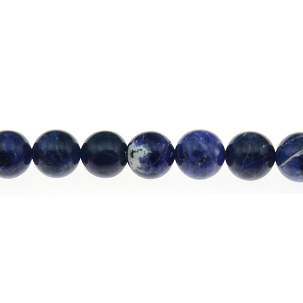 Sodalite Round 12mm - Loose Beads