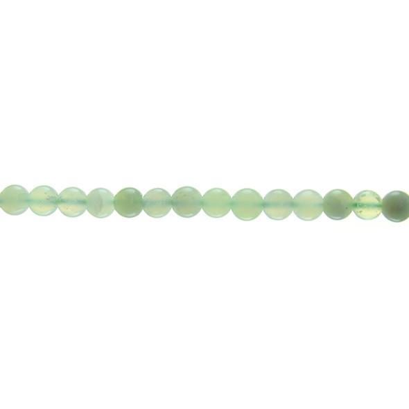 Serpentine New Jade Round Round 6mm