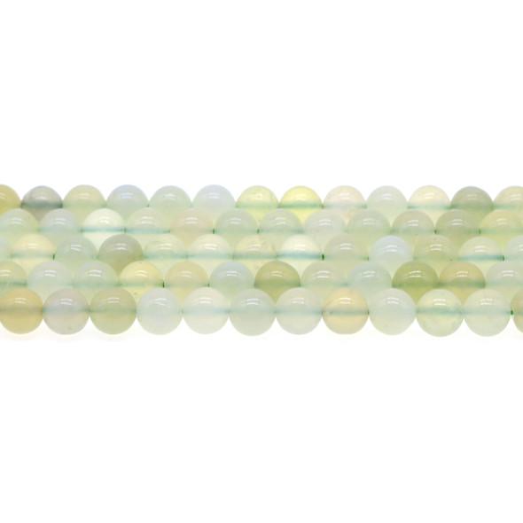Serpentine New Jade Round Round 8mm