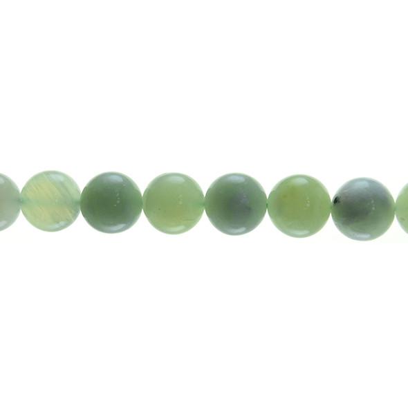 Serpentine New Jade Round Round 12mm