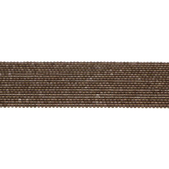 Smokey Quartz Round 2mm - Loose Beads