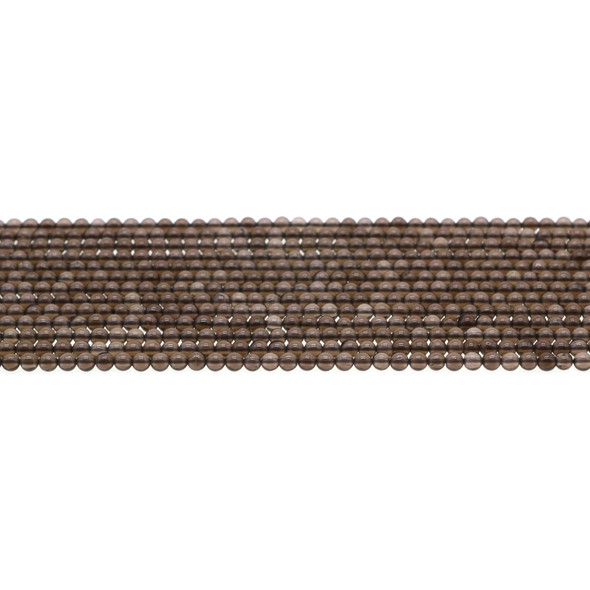 Smokey Quartz Round 3mm - Loose Beads