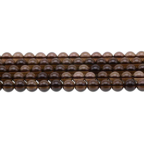 Smokey Quartz Round 8mm - Loose Beads