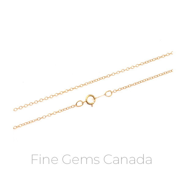 "14K Gold Filled - Cable Chain 18"" - 1/Pack"