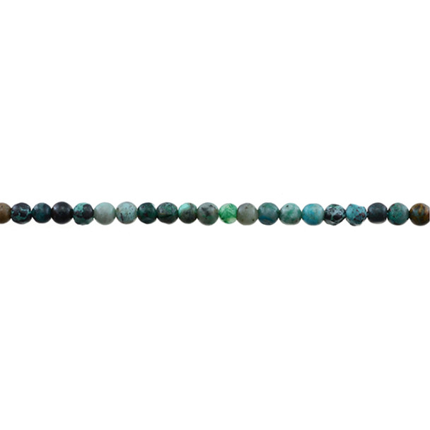 Chrysocolla (A) Round 4mm - Loose Beads