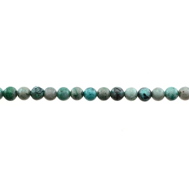 Chrysocolla (A) Round 6mm - Loose Beads