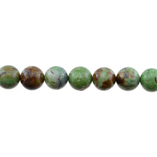 Green Opal Jasper Round 10mm - Loose Beads