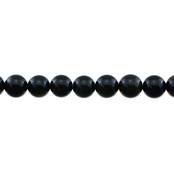 Golden Obsidian Round 10mm - Loose Beads