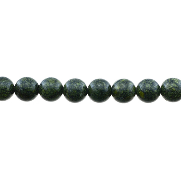 Russian Serpentine Round 10mm - Loose Beads