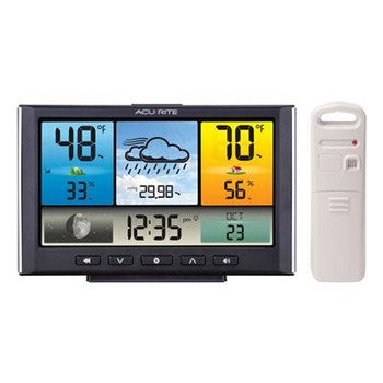 WEATHER STATION W COLOR DISPLY - 02098