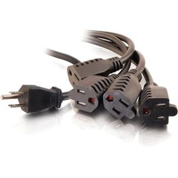 6' 1 to 4 Power Cord Splitter